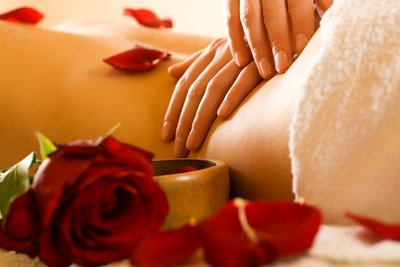 Zoete Roos Amandel massage olie